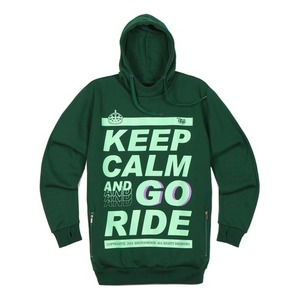 SIGNATURE HOODIE - GO RIDE (GREEN)