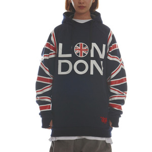 SIGNATURE HOODIE - LONDON (NAVY)