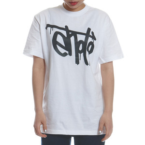 SIGNATURE TEE - White & Black