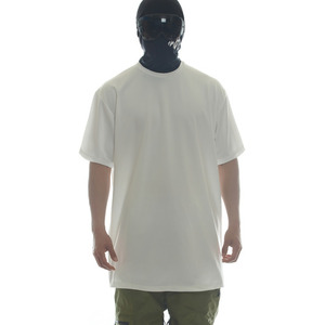 DRY-TECH PLAIN  TEE - WHITE