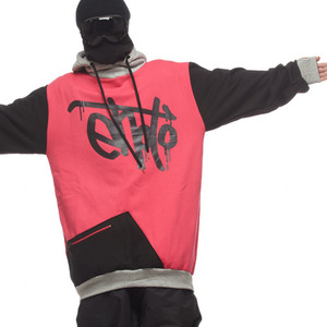 SIGNATURE HOODIE - Hot pink